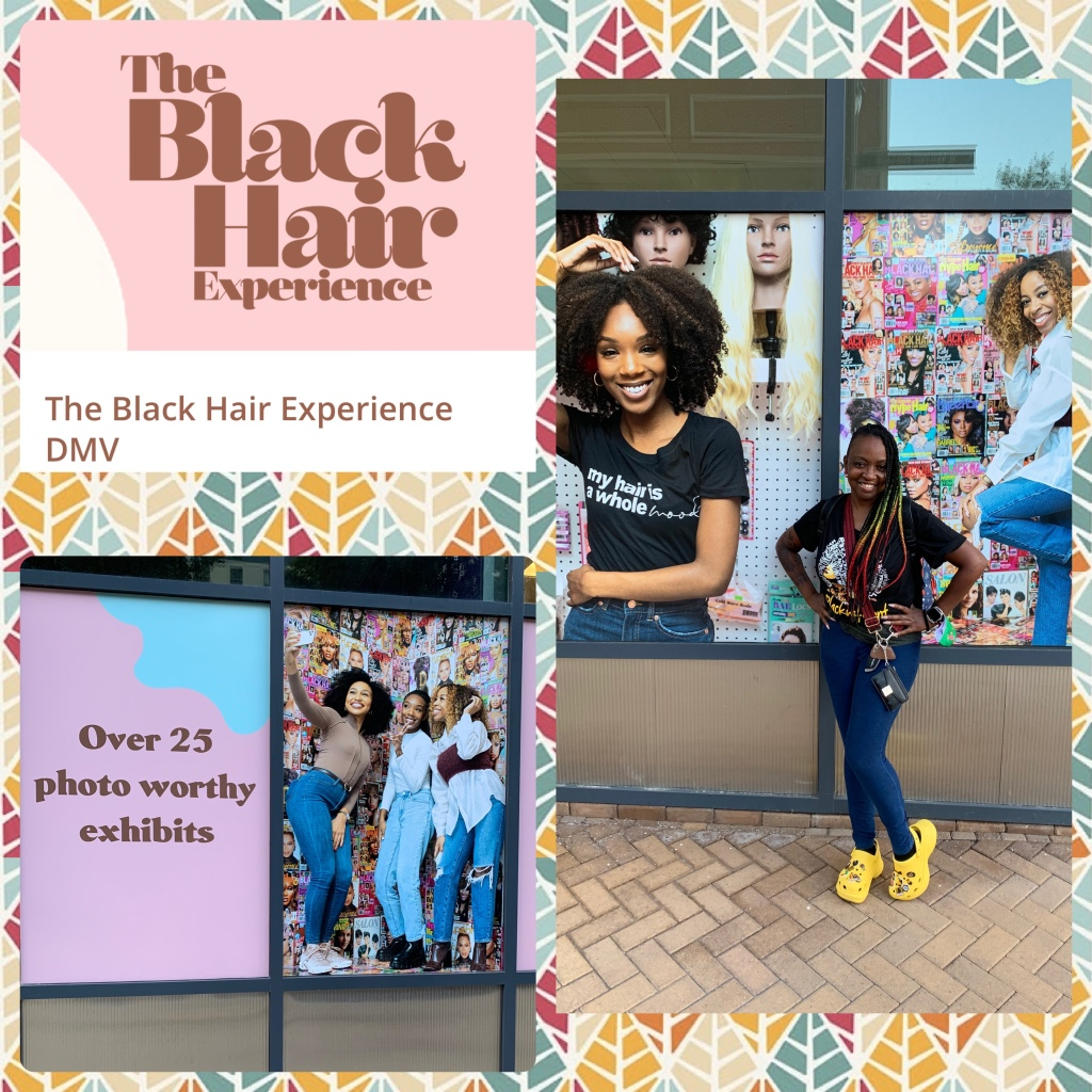No Entry Into The Black Hair Experience- National Harbor